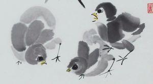 Chicks at Play