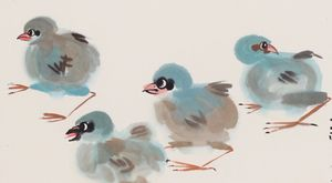Chicks on a Stroll
